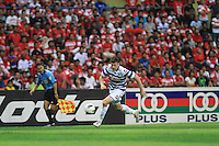 Football - Jamie Mackie of QPR in action during the friendly match against Kelantan Select XI during the QPR Asian Tour 2012 at the Shah Alam Stadium, Selangor, Malaysia