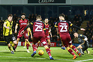 Burton Albion's Kieran Wallace (22) chases a loose ball during the EFL Sky Bet League 1 match between Burton Albion and Bradford City at the Pirelli Stadium, Burton upon Trent, England on 26 January 2019.
