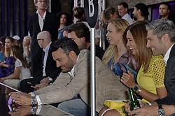 July 2, 2018 - Berlin, Deutschland - Giovanni Zarrella, Isabel Edvardsson, Jana Ina Zarrella, Christi.LASCANA Fashion Show, Berlin, Germany - 02 Jul 2018 (Credit Image: © face to face via ZUMA Press)