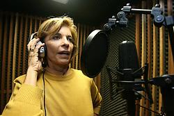 A candidata ao governo do Estado do RS, Yeda Crusius durante gravação programa de rádio. FOTO: Jefferson Bernardes/Preview.com