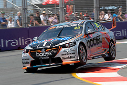 October 19, 2018 - Gold Coast, QLD, U.S. - GOLD COAST, QLD - OCTOBER 19: James Courtney in the Mobil 1 Boost Mobile Racing Holden Commodore during Friday practice at The 2018 Vodafone Supercar Gold Coast 600 in Queensland on October 19, 2018. (Photo by Speed Media/Icon Sportswire) (Credit Image: © Speed Media/Icon SMI via ZUMA Press)