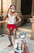 Sydney, Australia, Town Hall -- February 17, 2018.  A performance of traditional aboriginal song and dance at Sydney Town Hall. Editorial Use Only.