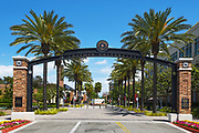 Schmid Gate the Formal Entrance of Chapman University