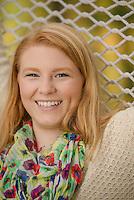 Meghan Rice senior portrait session.  ©2014 Karen Bobotas Photographer