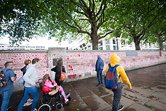 The National Covid Memorial Wall 30th July 2021