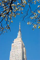New York City, New York: Empire State Building, architecture  .Photo #: ny301-15006  .Photo copyright Lee Foster, www.fostertravel.com, lee@fostertravel.com, 510-549-2202.