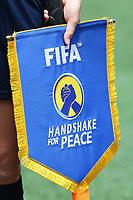 Fotball<br /> VM kvinner<br /> 07.06.2015<br /> Norge v Thailand<br /> Foto: imago/Digitalsport<br /> NORWAY ONLY<br /> <br /> Handshake for Peace