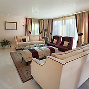 comfortable living room of an house, classic design furniture