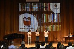 November 1, 2018 - SãO Paulo, Brazil - SÃO PAULO, SP - 01.11.2018: PREFEITURA LANÇA PROGRAMA MINHA BIBLIOTECA - Bruno Covas, Mayor of São Paulo, launches the My Library program, this Thursday, (01) at the Mário de Andrade Library in the central region of the capital. (Credit Image: © Roberto Casimiro/Fotoarena via ZUMA Press)