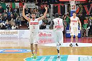DESCRIZIONE : Varese, Lega A 2015-16 Openjobmetis Varese Dinamo Banco di Sardegna Sassari<br /> GIOCATORE : Ukic Roko <br /> CATEGORIA : Esultanza<br /> SQUADRA : Openjobmetis Varese<br /> EVENTO : Campionato Lega A 2015-2016<br /> GARA : Openjobmetis Varese vs Dinamo Banco di Sardegna Sassari<br /> DATA : 26/10/2015<br /> SPORT : Pallacanestro <br /> AUTORE : Agenzia Ciamillo-Castoria/I.Mancini<br /> Galleria : Lega Basket A 2015-2016 <br /> Fotonotizia : Varese  Lega A 2015-16 Openjobmetis Varese Dinamo Banco di Sardegna Sassari<br /> Predefinita :