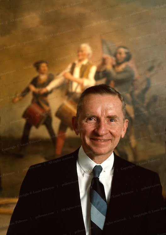 Ross Perot, founder of EDS (Electronic Data Systems) and the Reform Party and ran for president in 1992.  In 1979 two of his EDS employees were taken hostage in Iran and Perot led mission to resue them.