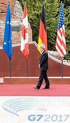 26.05.2017, Taormina, ITA, 43. G7 Gipfel in Taormina, im Bild Italiens Premierminister Paolo Gentiloni // Italy's Prime Minister Paolo Gentiloni during the 43rd G7 summit in Taormina, Italy on 2017/05/26. EXPA Pictures © 2017, PhotoCredit: EXPA/ Johann Groder