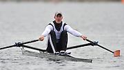 Eton, Great Britain, GBR M1X, Marcus BATEMAN, during the morning time trial at 2010 GBRowing Trials, Dorney Lake. Berks [Mandatory Credit. Peter Spurrier/Intersport Images]