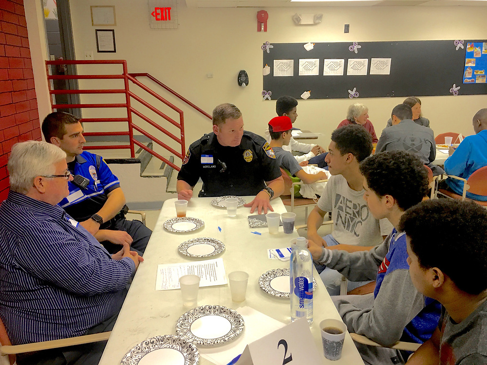 Police and City Teenagers Dialogue, Olivet Boys and Girls Club, Reading PA