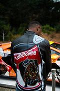 August 15, 2019:  Monterey Car Week, Skyler Grey, Aventador S artist