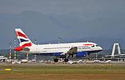 G-EUPG British Airways, Airbus A319-131 Photographed  at Malpensa (MXP / LIMC), Milan, Italy