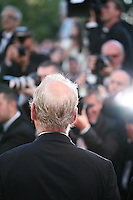 Actor Bill Murray being photographed at the gala screening of the film Moonrise Kingdom at the Cannes Film Festival.