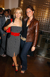 Left to right, HANNAH SANDLING and ANNA-LOUISE FELSTEAD at the opening of the new Diesel shop at 130 New Bond Street, London W1 on 18th May 2006.<br /><br />NON EXCLUSIVE - WORLD RIGHTS