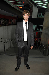 Actor CHASE CRAWFORD at the Roundhouse Rock and Roll Circus - an evening to raise funds for the Roundhouse's continued delivery of projects and facilities for young people, held at The Roundhouse, Chalf Farm Road, London on 12th June 2008.<br />