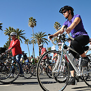 Bicyclists starting Ride On, Tucson, 2013. Bike-tography by Martha Retallick.
