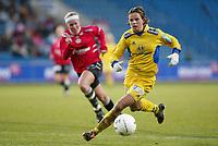 Fotball. Cupfinalen damer Arna-Bjørnar - Trondheims-Ørn 3-4. Kristin Lie, Trondheims-Ørn.<br /> <br /> Foto: Andreas Fadum, Digitalsport