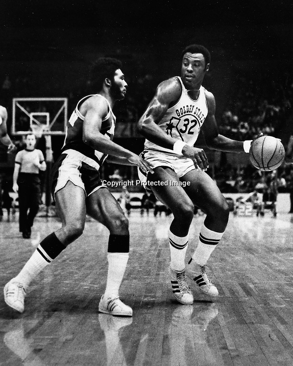 Golden State Warrior Cazzie Russell  (1973 photo by Ron Riesterer)