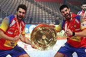 HANDBALL - EHF 2018 MENS EUROPEAN CHAMPIONSHIP - FINAL - SPAIN v SWEDEN 280118
