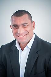 Rafael Bernardo de Oliveira, mais conhecido como Rafão Oliveira, é comissário de polícia e candidato a vereador pelo PTB. FOTO: Jefferson Bernardes/ Agência Preview