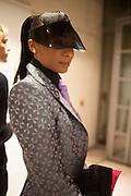 THAYVIAH BOUDICCA, Isabella Blow: Fashion Galore! private view, Somerset House. London. 19 November 2013