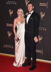 LOS ANGELES - SEPTEMBER 9:   Brooks Laich and Julianne Hough at the 2017 Creative Arts Emmy Awards at the Microsoft Theater on September 9, 2017 in Los Angeles, California. (Photo by Scott Kirkland/PictureGroup)