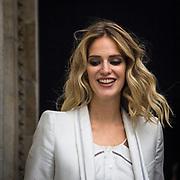 Sesto e penultimo giorno della Settimana della Moda a Milano: Teresa Baca fotografata alla sfilata di Roberto Cavalli<br /> <br /> Sixth day and penultimate day of Milan Fashion Week: Teresa Baca photographed at the fashion show Roberto Cavalli