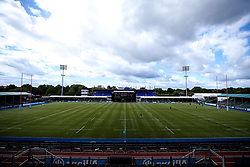 A general view of Allianz Park home to Saracens - Mandatory by-line: Robbie Stephenson/JMP - 05/09/2020 - RUGBY - Allianz Park - London, England - Saracens v Wasps - Gallagher Premiership Rugby