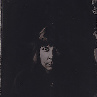 Susie, tintype portrait made with wetplate collodion process.