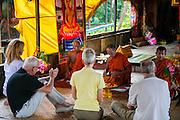 Moat Khla, Floating Fisherman Village, Buddhist Temple, Ceremony,  Tonle Sap Lake, Cambodia