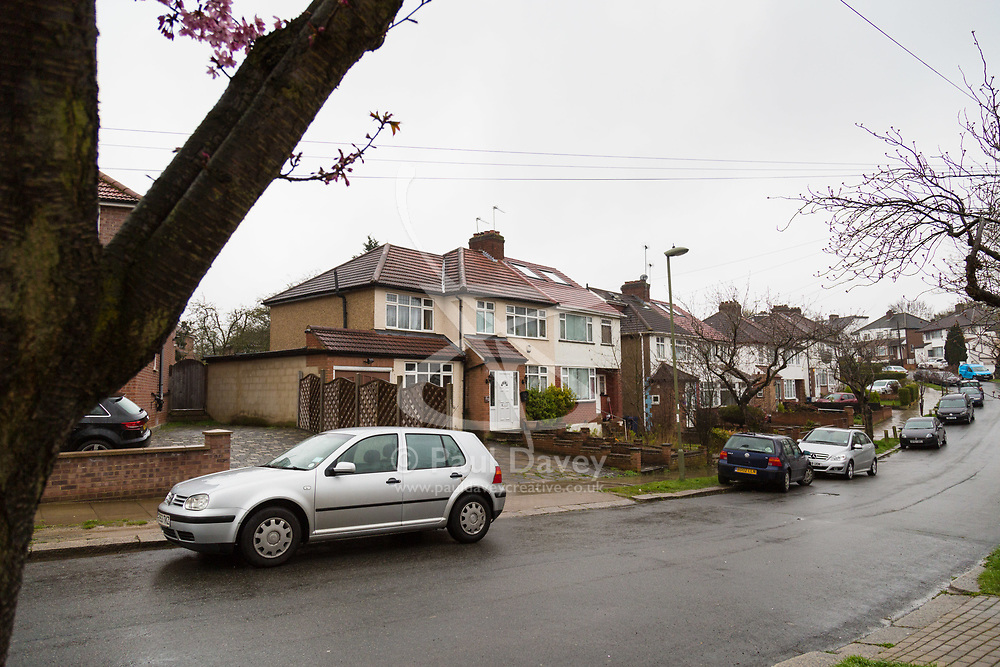 One of the properties, this one on Riverdene Road, Edgeware, associated with Christy Chelvendra, a retired accountant who together with his daughters owns several properties in north London including the one at 55 Bacon Lane where tow people died and five others were hospitalised following suspected carbon monoxide poisoning. London, April 09 2018.