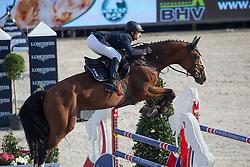 Dunon Gilles (BEL) - Fou de Toi van de Keikhoeve <br /> Belgian Championship<br /> FEI World Breeding Jumping Championships for Young Horses - Lanaken 2014<br /> © Dirk Caremans