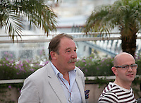 Charlie Maclean, Gary Maitland at  The Angel?s Share photocall at the 65th Cannes Film Festival France. The Angel's Share is directed by Ken Loach. Tuesday 22nd May 2012 in Cannes Film Festival, France.