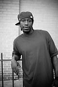 An afro american boy, Harlem. New York City, 16 june 2010. Christian Mantuano / OneShot