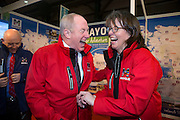 NO FEE PICTURES<br /> 23/1/16 Minister for Tourism Michael Ring at the Holiday World Show at the RDS in Dublin. Picture: Arthur Carron