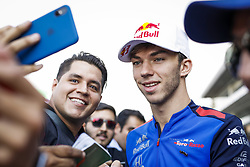 October 25, 2018 - Mexico-City, Mexico - Motorsports: FIA Formula One World Championship 2018, Grand Prix of Mexico, ..#10 Pierre Gasly (FRA, Red Bull Toro Rosso Honda) (Credit Image: © Hoch Zwei via ZUMA Wire)