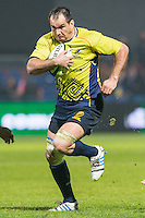 Daniel Carpo of Romania during their  rugby test match between Romania and USA, on National Stadium Arc de Triomphe in Bucharest, November 8, 2014.  Romania lose the match against USA, final score 17-27.