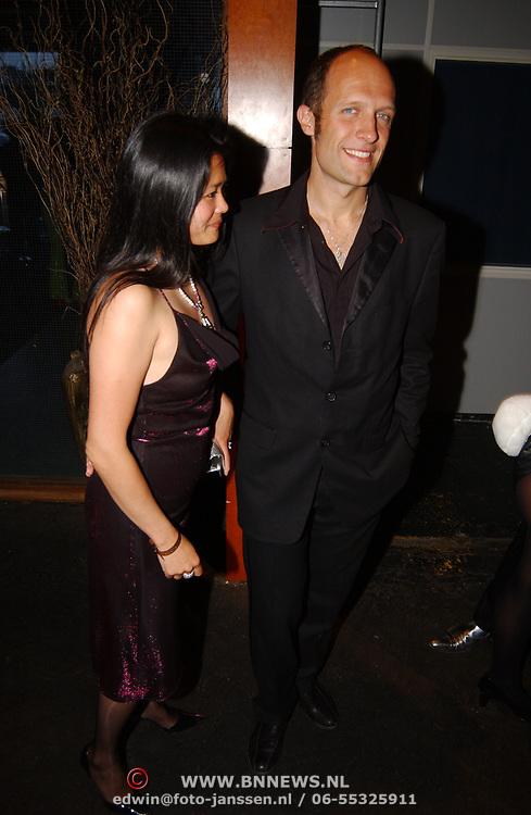 Playboy Night 2004, Hugo metsers III en vriendin