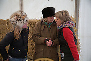ISSY FRAMPTON; ANNIE COX; LUCY MORRIS, Heythrop Point to Point. At a  new course at Cocklebarrow near Aldsworth. 11 January 2014
