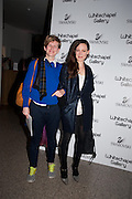 LAURE PROUVOST; BIRGIL LUDWIG, Swarovski Whitechapel Gallery Art Plus Opera,  An evening of art and opera raising funds for the Whitechapel Education programme. Whitechapel Gallery. 77-82 Whitechapel High St. London E1 3BQ. 15 March 2012