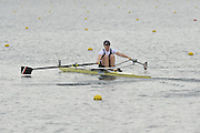 Eton, United Kingdom  GBR W1X.  Beth RODFORD, at the start of the women's single sculls  time trial,  at the 2012 GB Rowing Senior Trials, Dorney Lake. Nr Windsor, Berks.  Saturday  10/03/2012  [Mandatory Credit; Peter Spurrier/Intersport-images]