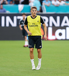 July 30, 2018 - Miami Gardens, Florida, USA - Real Madrid C.F. midfielder Martin Odegaard during an open training session for the International Champions Cup match between Real Madrid C.F. and Manchester United F.C. at the Hard Rock Stadium in Miami Gardens, Florida. (Credit Image: © Mario Houben via ZUMA Wire)