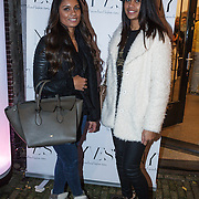 NLD/Amserdam/20131115 - Opening Nyves2, Xenia Fer (partner Leroy Fer) en zus