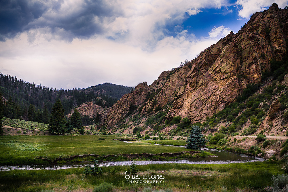 The juxtaposition of a rugged mountain near a wandering creek and open meadow highlights the contrasts of the southwest landscape.<br /> <br /> Wall art is available in metal, canvas, float wrap and standout. Art prints are available in lustre, glossy, matte and metallic finishes.