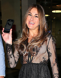 Nikki Grahame lost her shoe the night before at Little Mix 'Black Magic' Party. The Big Brother star notice the shoe was found and put on Ebay and shows it on her mobile as she leaves the CharityStars #AGOODSUMMERPARTY held at the Sanctum Soho Hotel in London, UK. 21/07/2015<br />BYLINE MUST READ : GOTCHAIMAGES.COM<br /><br />Copyright by © Gotcha Images Ltd. All rights reserved.<br />Usage of this image is conditional upon the acceptance <br />of Gotcha Images Ltd, terms and conditions available at<br />www.gotchaimages.com