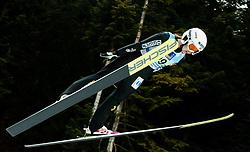 Ingebjoerg Saglien Braaten of Norway competes during Team Competition at Day 2 of World Cup Ski Jumping Ladies Ljubno 2019, on February 9, 2019 in Ljubno ob Savinji, Slovenia. Photo by Matic Ritonja / Sportida